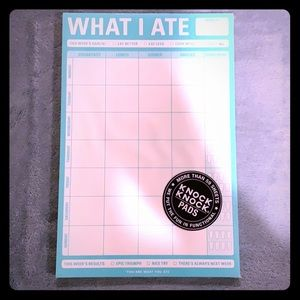 Knock Knock What I Ate Magnetic Pad. New!